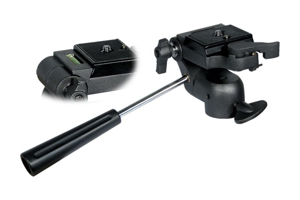 Articulated tripod head black semi-professional