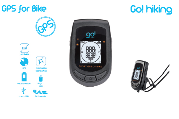 GPS GO HIKING con pantalla impermeable