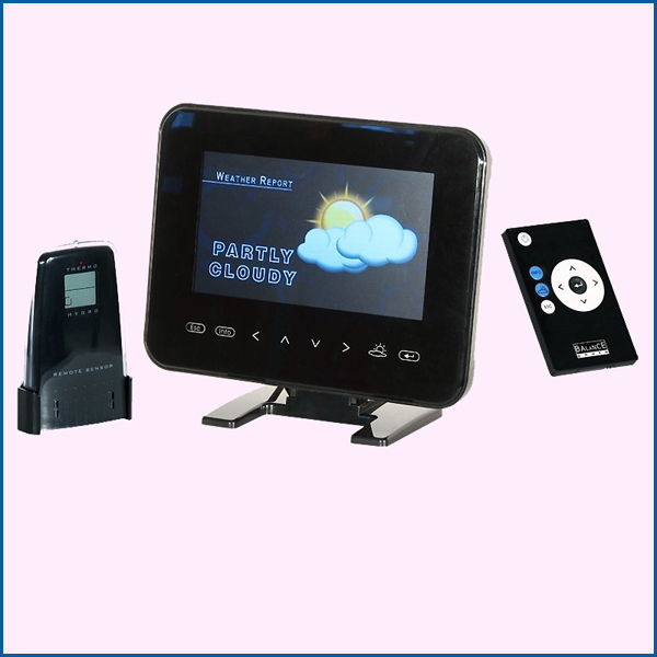 Weather station digital frame 7 ""