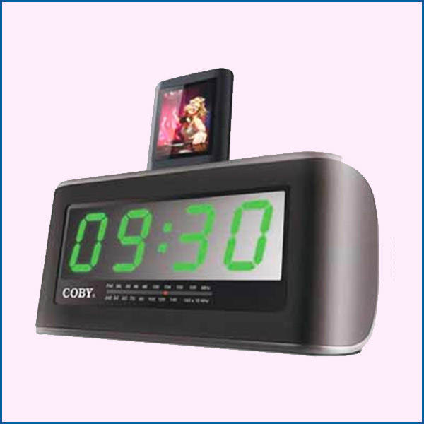 IPHONE CRA108 COBY CLOCK RADIO