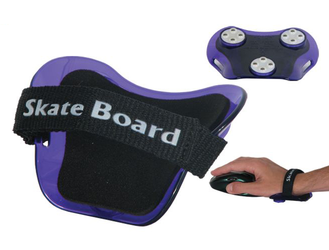 Skate Board wrist rests in various colors