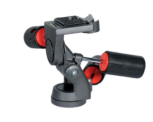 3-way tripod head black professional